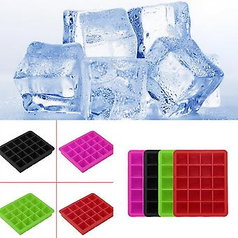 20-cavity Large Cube Ice Pudding Jelly Maker Mold Mould Tray Silicone Tool