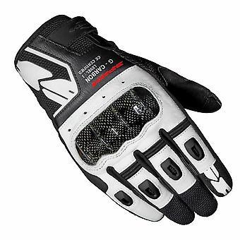 Spidi G-Carbon CE Handskar Vit Svart [C88-001]