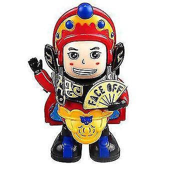 Kasvot vaihtavat lelut Sichuan Opera Kasvot vaihtavat nuket Sähkökäyttöiset automaattiset kasvot vaihtavat robottilelut