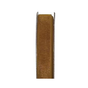 LAST FEW - Ruban d'artisanat Organza de 3m Golden Shine 10mm de large
