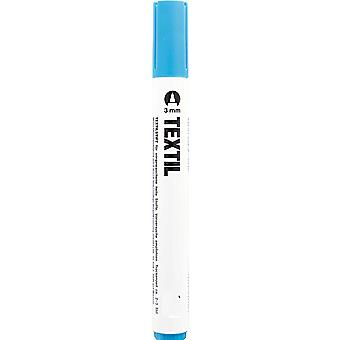 Turquoise Fabric Marker for Light Fabrics - Textile Painting Pen
