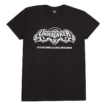 WWE Begravningsentreprenören 30 år Män's T-Shirt   Officiella Merchandise