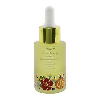 Winky Lux Rose Moringa Aceite Facial (Aceite de Moringa, Aceite de Semilla de Uva, Aceite de Rosa mosqueta) 30ml / 1oz