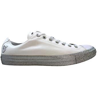 Converse Chuck Taylor All Star Ox valkoinen/Pure Platinum-musta Miley Cyrus 162238c miesten ' s