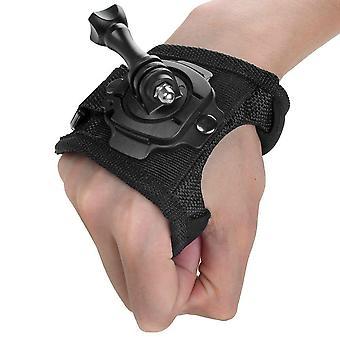 قفاز المعصم باند / حزام اليد ترايبود جبل ل Gopro