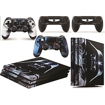 GNG PS4 Pro Console DV From Starwars Skin Decal Vinal Sticker + 2 Controller Skins Set