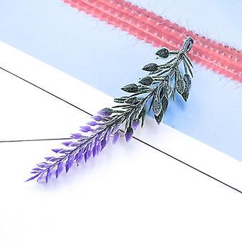 20 Pieces cheap artificial plants floristics fake plastic grass scrapbook flowers christmas decorations for home wedding brooch