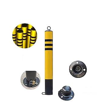 Road Construction Steel Round Pipe Active Traffic Pile Post With Spiral Bottom