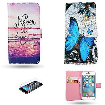 Iphone 6 / 6s - Læderetui / Cover
