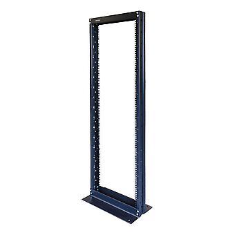 """TOTEN, 19"""" open floor stand, 32U, 547x280, max load 200kg, black"""