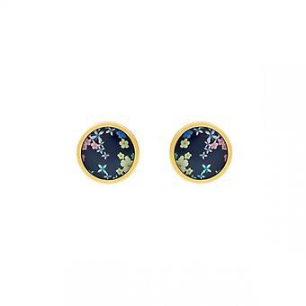 Boucles d'oreilles Femme Christian Lacroix Bijoux FLOWER GALAXY XFJ3413 Laiton Dor�