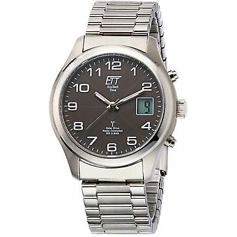 ONE (Eco Tech Time) Silver Stainless Steel EGS-11332-53M Men's Watch