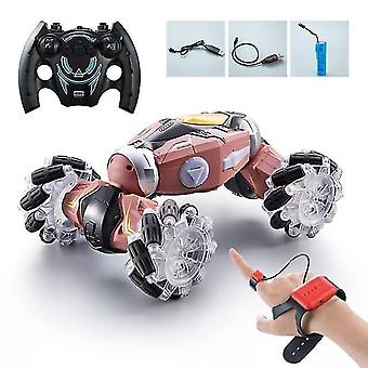 Toy cars pickwoo 1:16 4wd rc stunt remote control car radio gesture induction light twist high speed off road