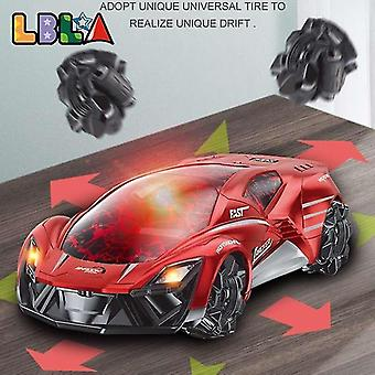 Toy cars 2.4G crack remote control min drifting rc car stunt multi directional 360 rotating electric racing