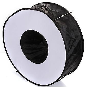 """45cm/18"""" Ring Flash Softbox, egnet for makro- og portrettfotografering"""