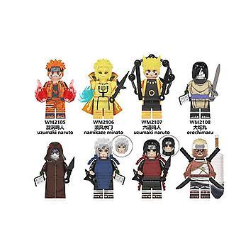 Naruto Série Naruto Blocs de construction Figurine Enfants Assemblant des jouets