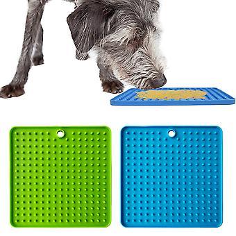 2 pack pad pour chien Lick, pet mat slow feeders et soulagement de l'anxiété