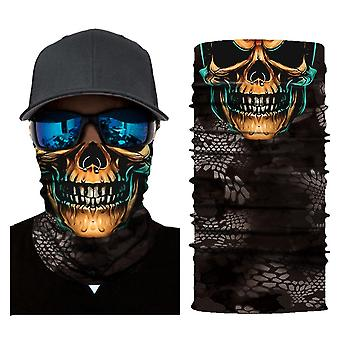 Coole Roboter Maske Schal Joker Stirnband Sturmhauben