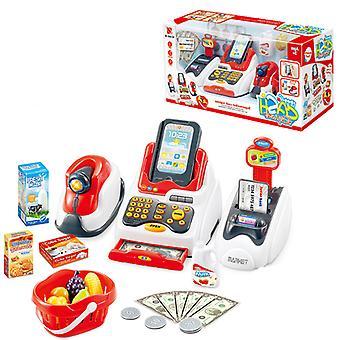 Simulaatio Kassa lasten supermarket kassa vauvan lelu lahja