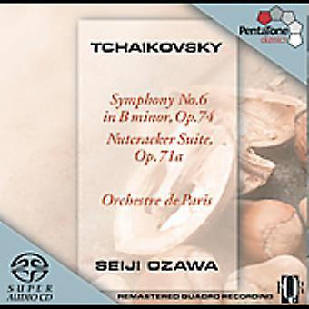 P.I. Tchaikovsky - Tchaikovsky: Symphony No. 6; Nutcracker Suite [SACD] USA import