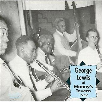 George Lewis - At Manny's Tavern 1949 [CD] USA import