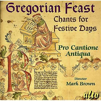 Pro Cantione Antiqua - Gregorian Feast: Chants for Festive Days [CD] USA import
