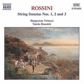 G. Rossini - Rossini: String sonates Vol. 1, String Sonatas Nos. 1 - 3 [CD] USA import