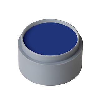 Maquillage et cils eau maquillage bleu foncé pur