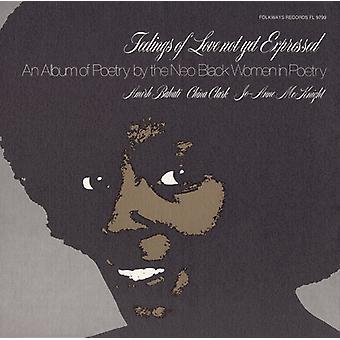 McKnight/Clark/Bahati - sentimientos de amor no expresado aún: importación de Estados Unidos un álbum de Po [CD]