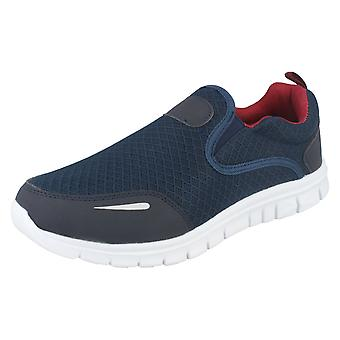 Mens AirTech Slip On Trainers Reno
