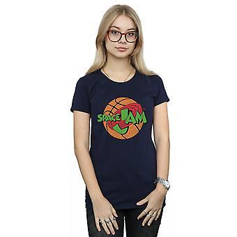 Space Jam Women's Simple Logo T-Shirt