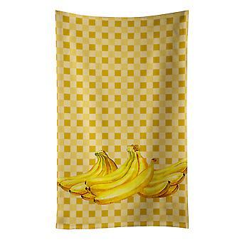 Carolines Treasures  BB7166KTWL Bananas on Basketweave Kitchen Towel