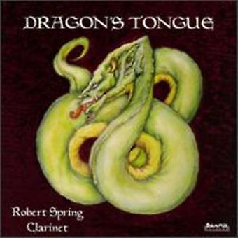 Robert kevät - lohikäärmeen kieli [CD] USA tuonti