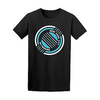 New Yorkin Brooklyn suunnittelu Graafinen t-paita miesten-kuva: Shutterstock