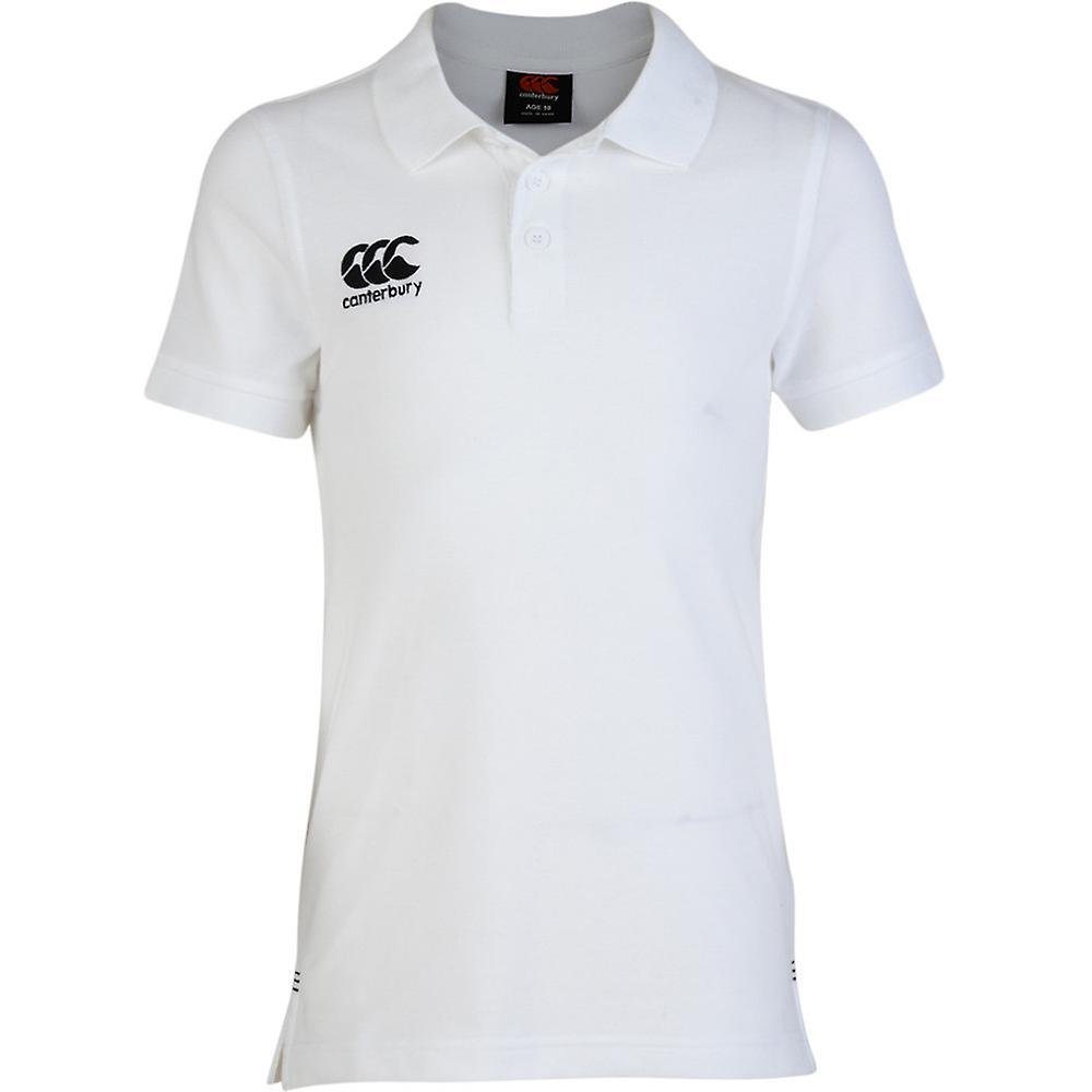 Canterbury Kids Polo Waimak Shirt Top CCC New