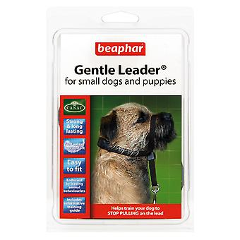 Beaphar Gentle Leader For Small Dogs and Puppies, S, Black Lead