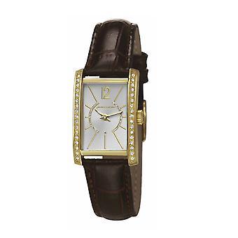 Pierre Cardin damski zegarek bransoletka zegarek LA tête d'Or skórzane PC106562F09