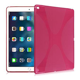 Protective cover silicone X-line series pink case cover for new Apple iPad 9.7 2017 bag