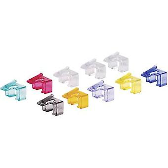 Renkforce Network Cable Latch Repair Clip (Pack of 10) RF-NW-RC RF-4480068 10 pc(s)