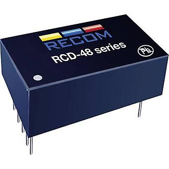 Recom Lighting RCD-48-0.35/W LED controller 350 mA 56 V DC Analog dimming, PWM dimming Max. operating voltage: 60 V DC
