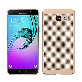 Mobiele telefoon geval voor Samsung Galaxy A3 2017 mouw zaak tas cover case goud