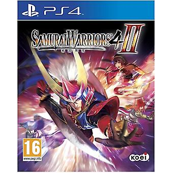 Samurai Warriors 4 II (2) PS4 Game