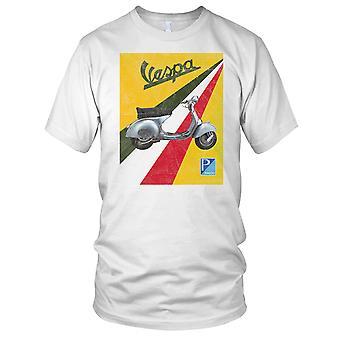 Vespa Scooter italien Pop Art Mens T Shirt