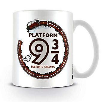 Harry Potter Official Platform 9 3 / 4 Ceramic Mug