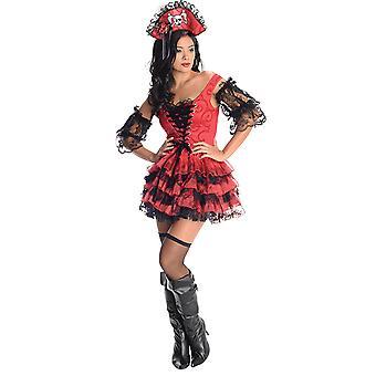 Swashbuckler sjørøver bekostning pirat kjole for damer