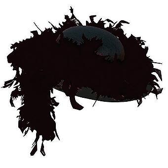 Femme chapeau accessoires BOA noir chapeau Halloween Carnaval