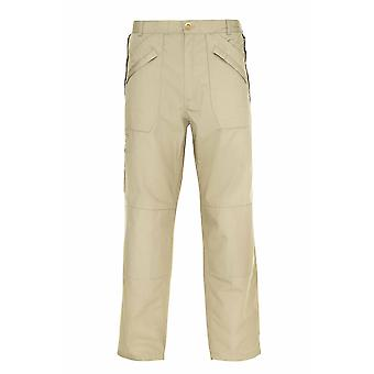 Champion Wenlock Męskie lekkie spodnie z poli bawełny Chino 46W-31L Stone