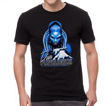 T-shirt noir le cinquième élément Diva Plavalaguna hommes