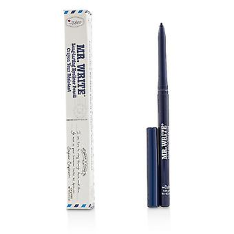 Thebalm Mr. Write Long Lasting Eyeliner Pencil - # Compliments (blue) - 0.35g/0.012oz