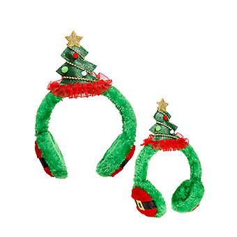 Cache-oreilles de sapin de Noël